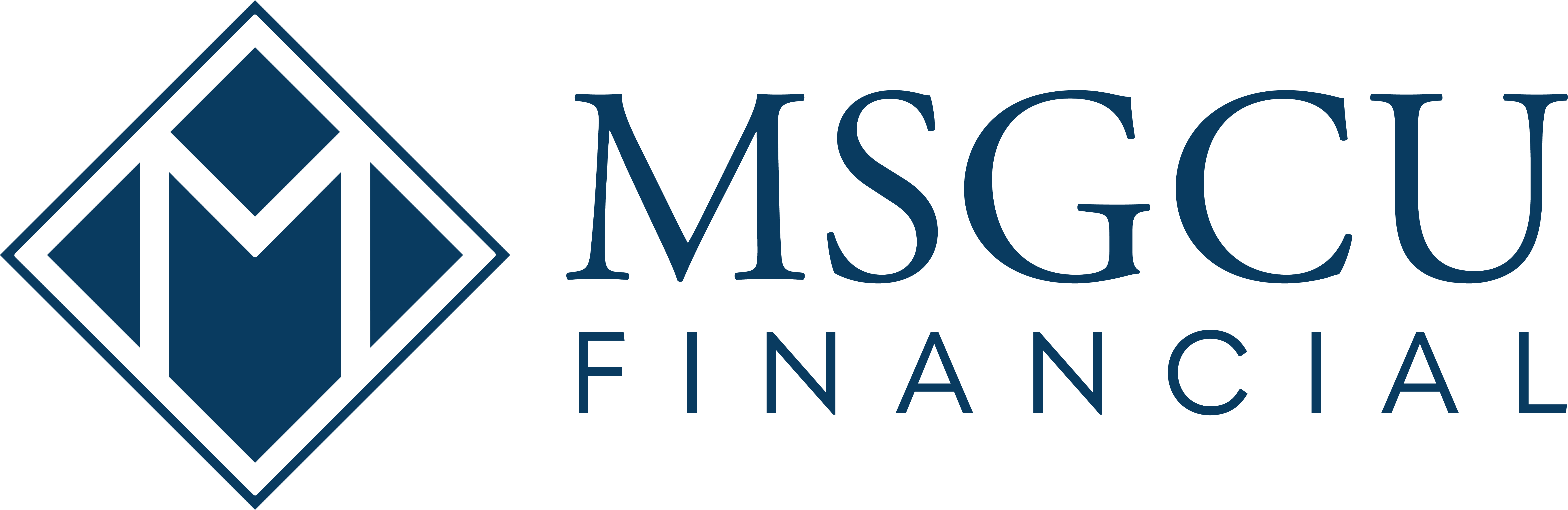 MSGCU Financial Logo