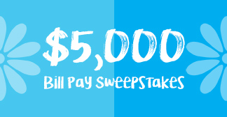$5,000 Bill Pay Sweepstakes